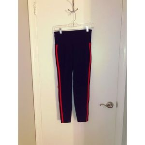 Old Navy - Striped Workout Tights/Leggings